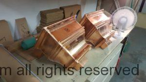 Nemours 2 Copper Leader Head Collector Box in Prototype